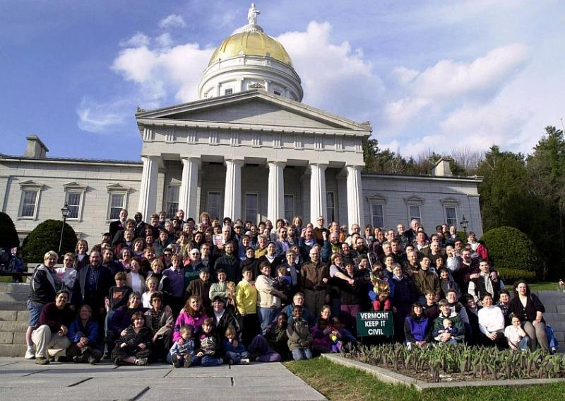 marriage vote in vermont Gay