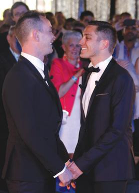 gay man married Coming