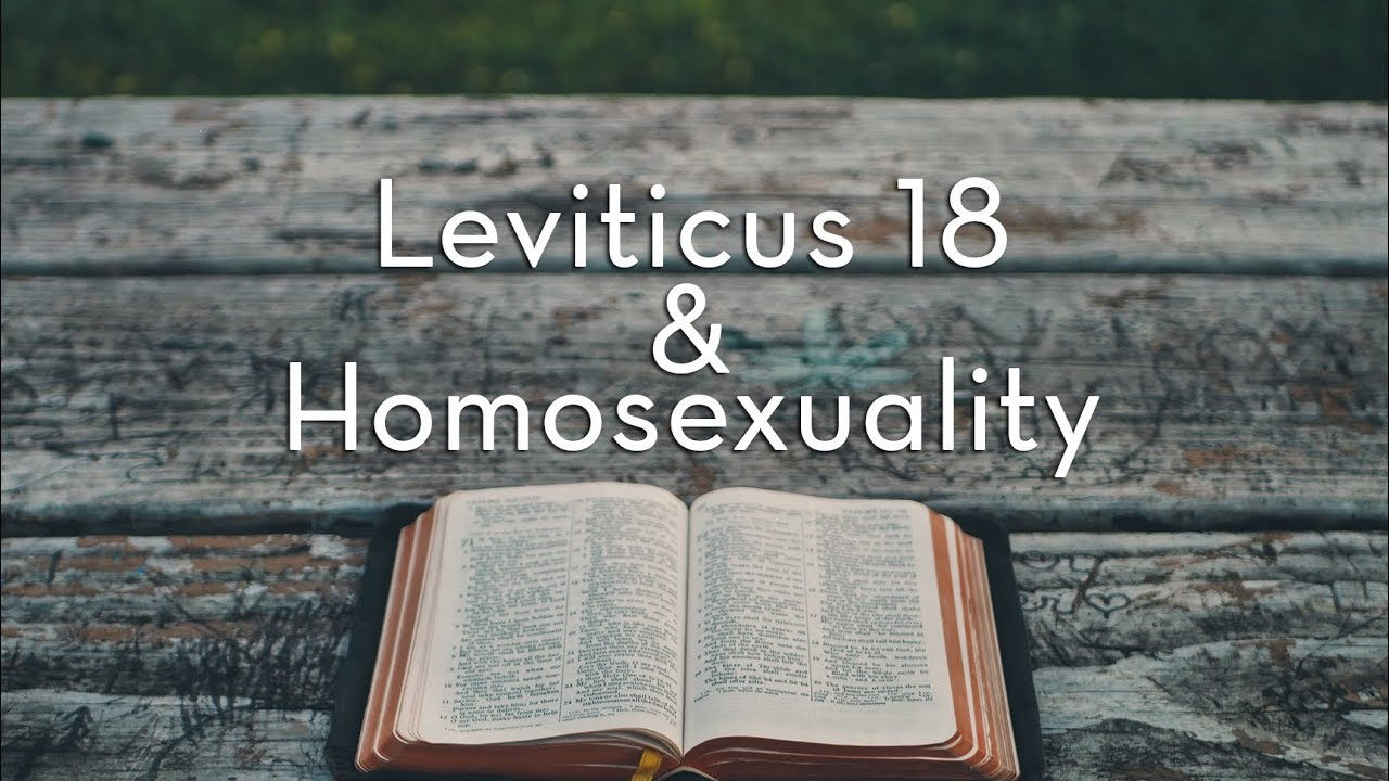 Leviticus gay marriage