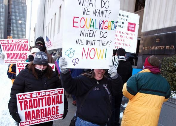 marriage Arguements gay