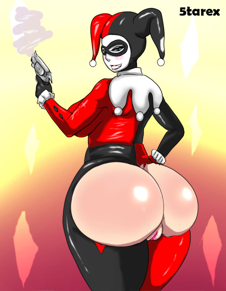 shemale as hell Harley quinn hot