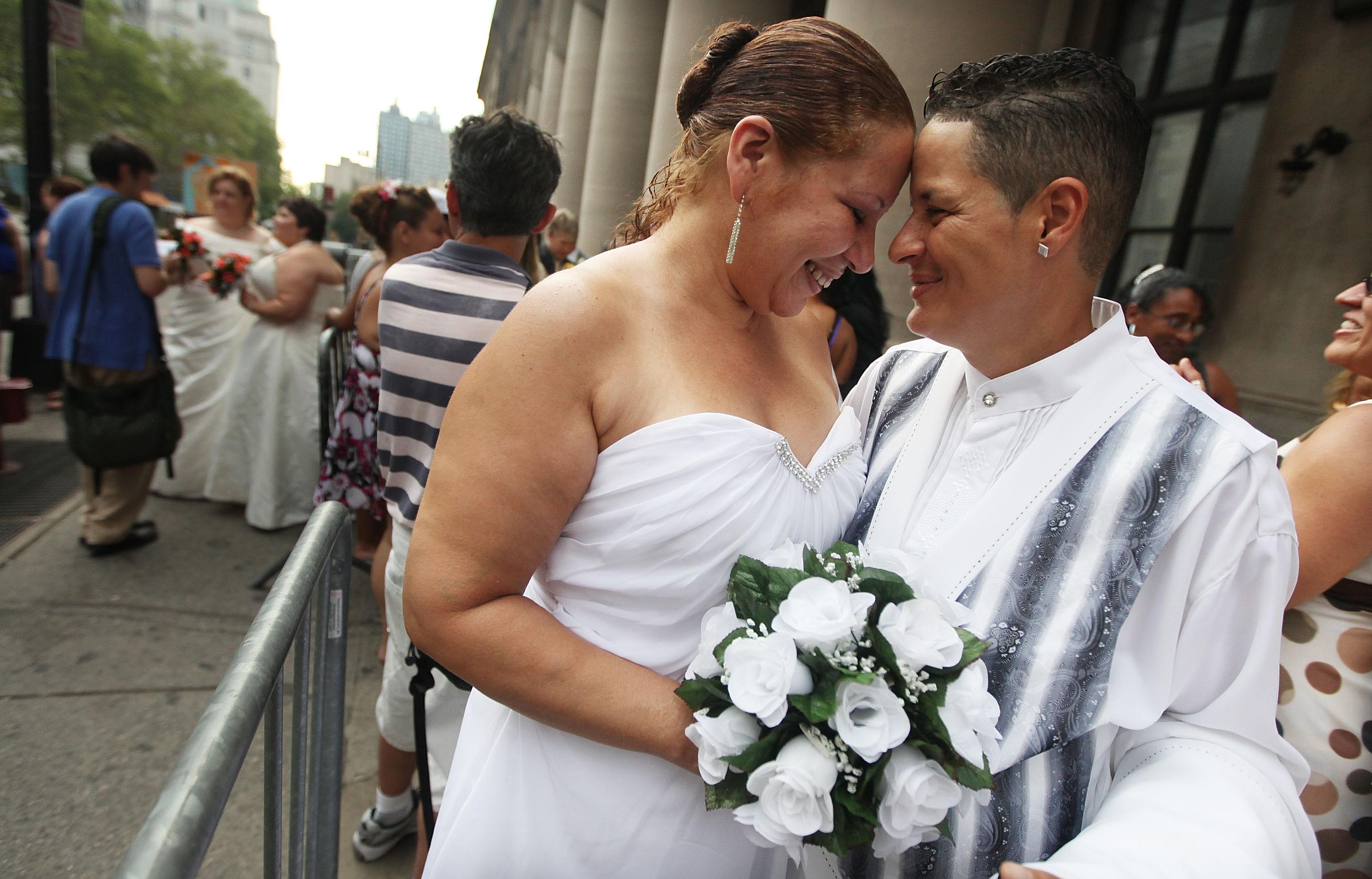 for gay marriages Rights