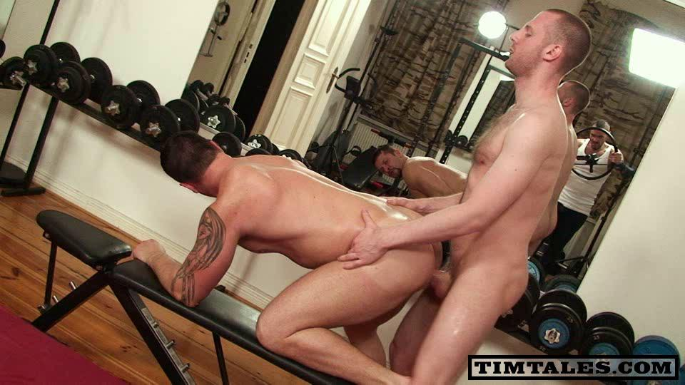 Guy first time gay video