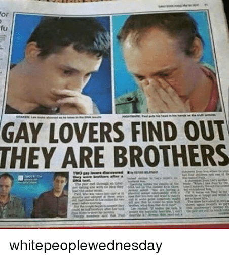 brothers Gay bringing out