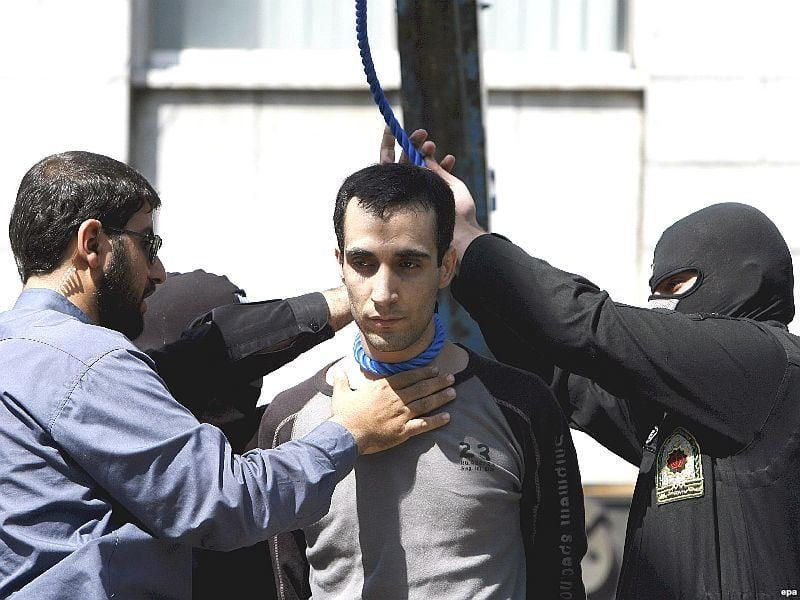 iranian death sentenced Gay youth to