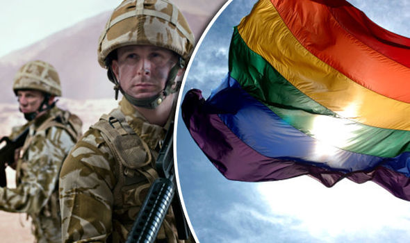 on gay law Military