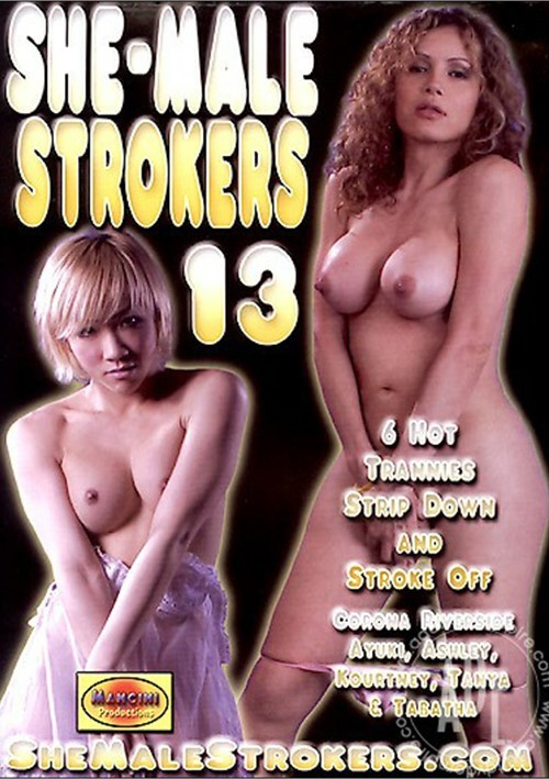 13 clips tanya strokers Shemale