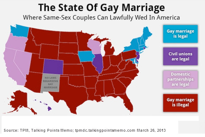 gay laws State marriage